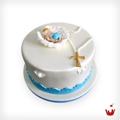 Taufe hamova konditorei for Torte zur taufe selber machen