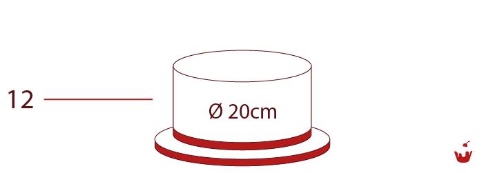 Hamova-Torten-1-stoeckig-12P