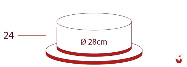 Hamova-Torten-1-stoeckig-24P