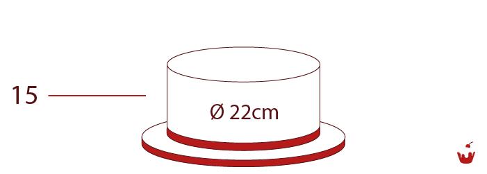 Hamova-Torten-1-stoeckig-15P