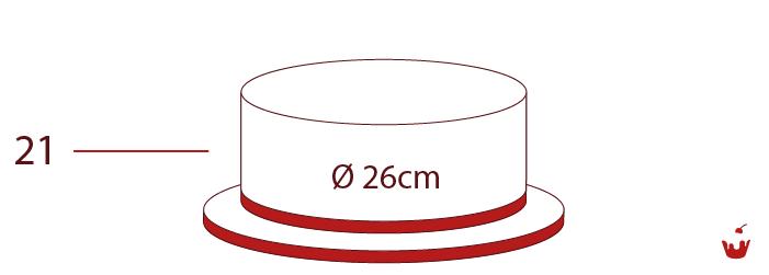 Hamova-Torten-1-stoeckig-21P