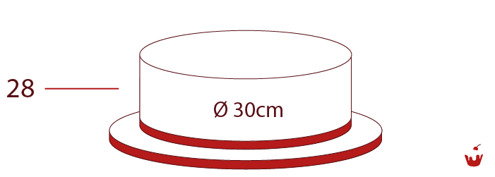 Hamova-Torten-1-stoeckig-28P