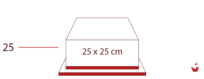 Hamova-Torten-1-stoeckig-quadratisch-25P